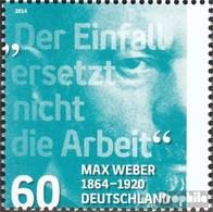 BRD (BR.Deutschland) 3071 (kompl.Ausg.) Postfrisch 2014 Max Weber - [7] Repubblica Federale