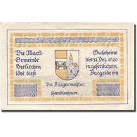 Billet, Autriche, Seekirchen, 30 Heller, Village 1920-12-31, SUP Mehl:FS 987b - Autriche