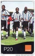 Botswana, Orange Easy Recharge Card, Football, P20 - Botswana