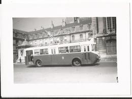 Photo - Thème Transport  - Trolleybus à Dijon - TED - Treni