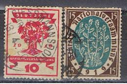 (A2-87) GERMANY // YVERT  106, 107 // 1916-19 - Alemania