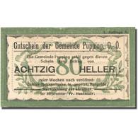 Billet, Autriche, Pupping, 80 Heller, Valeur Faciale, SUP, Mehl:FS 792Ia - Autriche