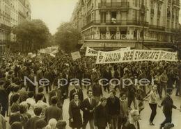 MAI 68 PARIS Manifestation CGT Place D'Alésia 25 Mai 1968 - Other