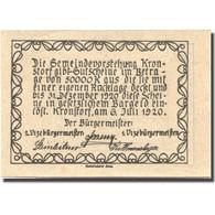Billet, Autriche, Kronstorf, 20 Heller, Valeur Faciale, 1920 SPL Mehl:FS 486a - Autriche
