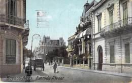 ARGENTINA Argentine - BUENOS AIRES : Avenida Alvear - Jolie CPA Colorisée  - Argentinien Argentinië - Argentina
