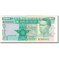 Billet, Ghana, 1 Cedi, 1982-03-06, KM:17b, NEUF - Ghana