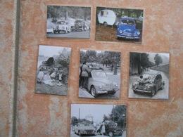 6  Repro  Cartonnées Et Plastifiées  RENAULT 4 CV - Automobiles