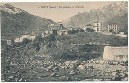 CORTE - Vue Générale, Le Tavignano - E. Breteau - Corte