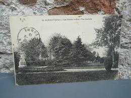 Cpa AUBIGNY (CHER) Les Grands Jardins - Vue Centrale. 1919 - Aubigny Sur Nere