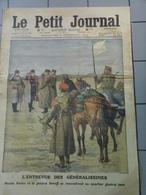 Le Petit Journal  De Déc   Aout 1912- L'Entrevue Des Généralissimes Et Pendaison De Bachi Bouzouks . - Kranten