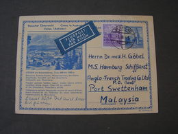 GS  1965 To Malaysia - Entiers Postaux