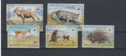 Lesotho Michel Cat.No.   Mnh/** 361/365 Wwf - Lesotho (1966-...)