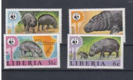 Liberia Michel Cat.No.   Mnh/** 1315/1318 Wwf - Liberia