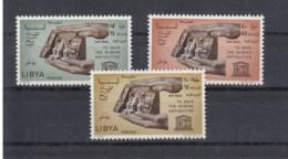Libyen Michel Cat.No.   Mnh/** 205/207 Unesco - Libya
