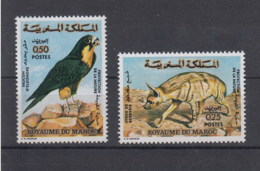 Marokko Michel Cat.No.   Mnh/** 756/757 Bird - Morocco (1956-...)