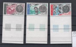 Mauretanien Michel Cat.No.   Mnh/** 495/497 Coins - Mauritania (1960-...)