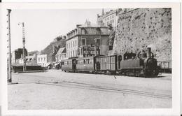 Photo- Chemin De Fer Normand - Train à Granville Port - Manche  - 50 - Trains