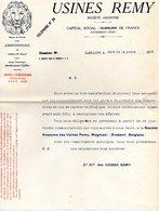F2405 - Usines REMY - GAILLON - EURE - Courrier Retour En BELGIQUE - France