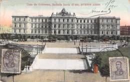 ARGENTINA Argentine - BUENOS AIRES : Casa De Gobierno - Fachada Hacia El Rio- CPA Colorisée - Argentinien Argentinië - Argentine