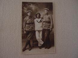 Photo Ancienne (CPA) Militaria Militaire Marins Valmy - Oorlog, Militair