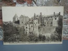 Cpa SAINT-VALERY-SUR-SOMME Maisons Bâties Sur Les Anciens Remparts - Saint Valery Sur Somme