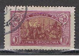 LITUANIE 13 // YVERT 34 // 1921 - Lithuania