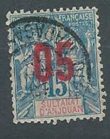 Anjouan  -  Yvert  N°  22 Oblitéré   -  Bce 20403 - Usados
