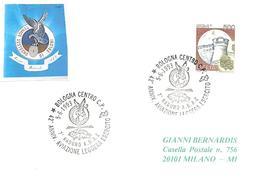 ITALIA - 1993 BOLOGNA 42° Anniv. Aviazione Leggera Esercito - 7° Raduno ANAE (elicottero) - Militaria