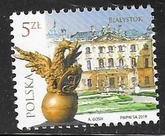 POLAND,  2019, MNH, POLISH CITIES, BIRDS, 1v - Geography