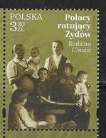 POLAND,  2019, MNH, WWII, POLES RESCUING JEWS,1v - WW2