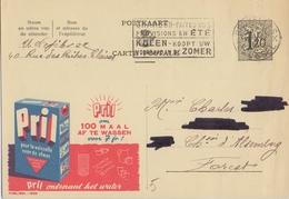 PUBLIBEL 1330° : ( PRIL ) : AFWAS,VAISSELLE,WASHING-U P, - Stamped Stationery