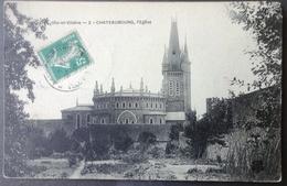 CPA 35 CHATEAUBOURG - L'Eglise  - Réf. D 134 - France