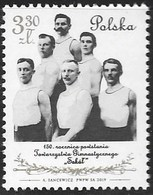 POLAND,  2019, MNH, SPORTS, GYMNASTICS, 150th ANNIVERSARY OF FOUNDATION OF SOKOL GYMNASTIC SOCIETY,1v - Gymnastics