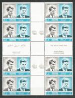 MANAMA - MNH - Famous People - Kennedy - Gutter Parrirs - Kennedy (John F.)