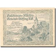 Billet, Autriche, Stössing, 50 Heller, Eglise 1920-09-30, SUP+, Mehl:FS 1040 - Autriche