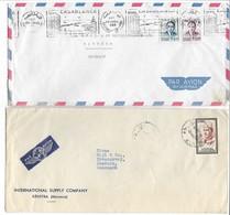 Morocco - 2 Covers Sent To Denmark.  # 386 # - Morocco (1956-...)