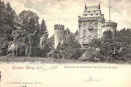 Colmar-Berg - Résidence Du Grand-Duc Héritier Vue Du Parc (J M Bellwald 1903) - Colmar – Berg