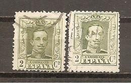 España/Spain-(usado) - Edifil  310-10A - Yvert  272-72a (o) - Used Stamps