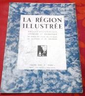 La Région Illustrée N°75 1932 Ski Club Au Mezenc,Photos Concours De Boules Saint Etienne,Pierre Sur Haute Lignon - 1900 - 1949