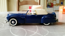 Rio #43 Lincoln Continental 1941 Blauww 1/43 NMIB - Voitures, Camions, Bus