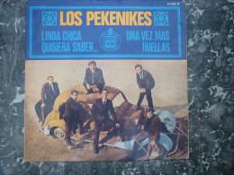 Los Pekenikes: Linda Chica-Une Vez Mas-Quisiera Saber-Huellas/ 45t Hispa Vox - Country & Folk