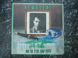 Olivier Kowalski: Une Vie C'est Trop Petit-Le Nageur Bleu/ 45t Virgin 105 221 - Country & Folk