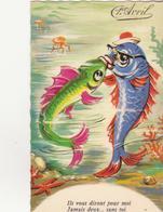 CP - 1er Avril - 1 De April (pescado De Abril)