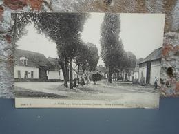 Cpa LE BOISLE, Par Crécy En Ponthieu Route D'Abbeville - France