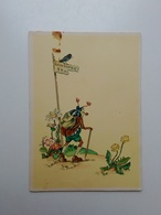 Insect ?. Fantasy.  DDR Postcard. Tbr-177 - Fairy Tales, Popular Stories & Legends