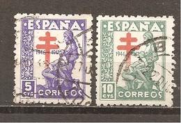 España/Spain-(usado) - Edifil  1008-09- Yvert 757-58 (o) - 1931-Hoy: 2ª República - ... Juan Carlos I