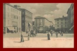 Un Saluto Da Liverno * Piazza Cavour     ( Scan Recto Et Verso ) - Livorno