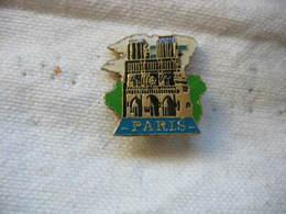 Pin's De La Cathédrale Notre Dame De PARIS - Steden