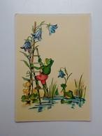 Frog's. Fantasy.  DDR Postcard. Tbr-182 - Animals