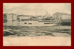 Un Saluto Da Liverno * Veduta Del Cantiere   ( Scan Recto Et Verso ) - Livorno